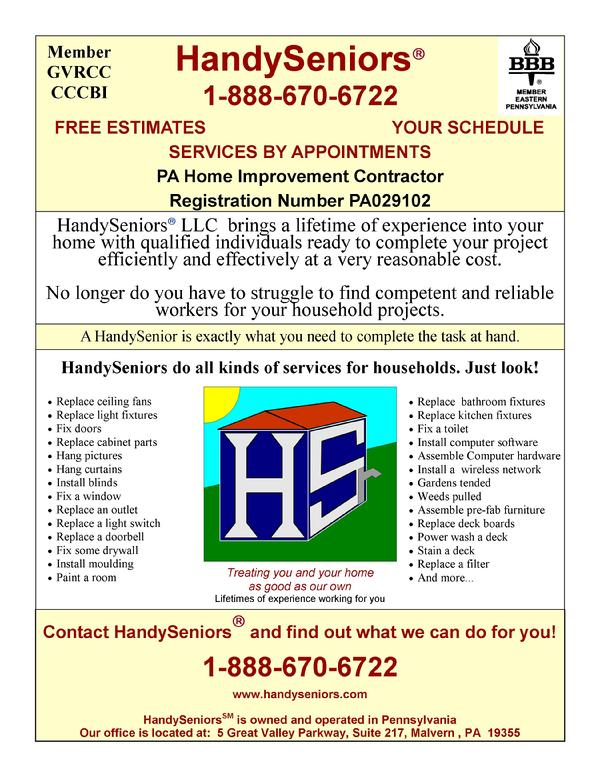 Handyseniors Handyman Services